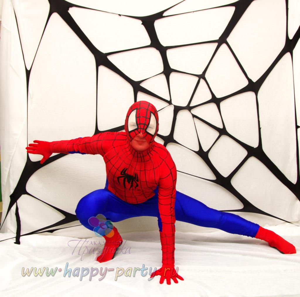 аниматор человек паук на детский праздник в ростове