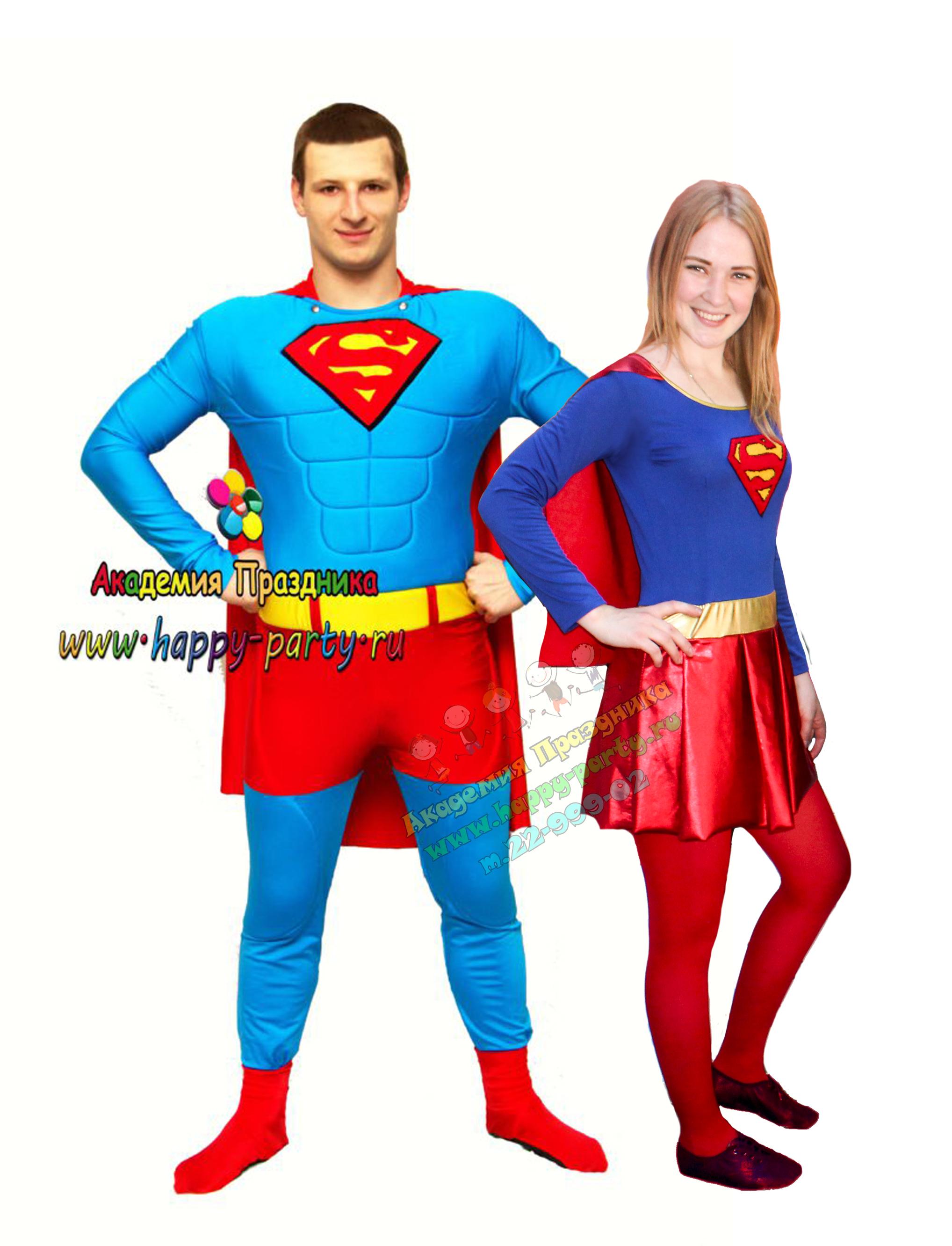 Аниматоры супергерл и супермен