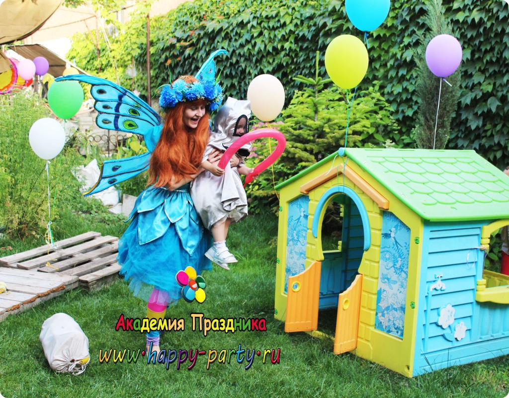 аниматор фея на день рождения ребенка ростов