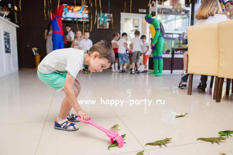 приключение детский праздник с аниматорами черепашка ниндзя