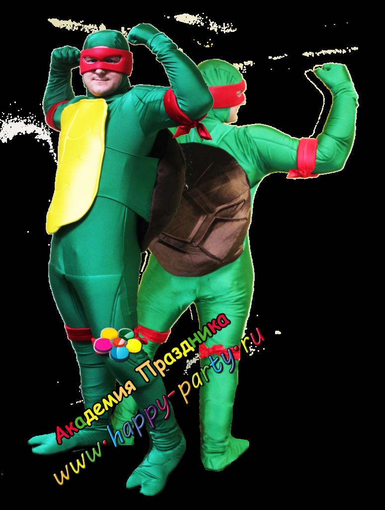 черепашка ниндзя на детский праздник