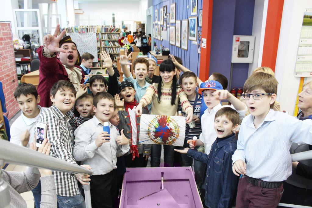 мастер-класс шоу для детей на детский праздник организация детских праздников